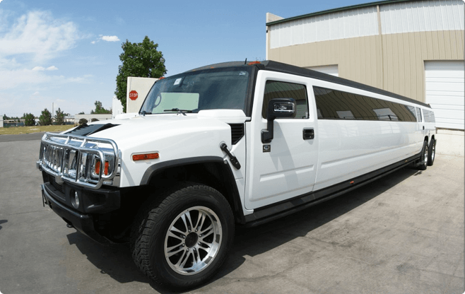 Warsaw Limousines - Hummer H2 Ultra Stretch - Front View