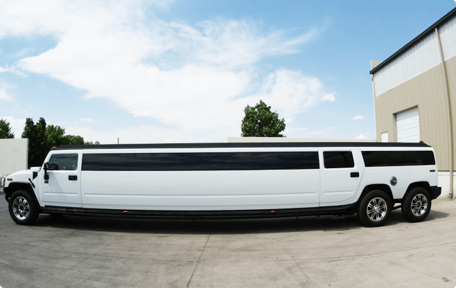 Warsaw Limousines - Hummer H2 Ultra Stretch - Side View