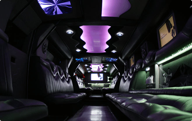 Warsaw Limousines - Hummer H2 Ultra Stretch - Interior